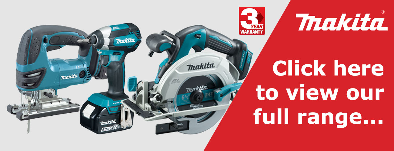 Makita power tools now on sale at Fielden Factors