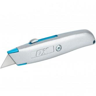 OX TRADE HEAVY DUTY UTILTY KNIFE RETRACTABLE OX-T222701