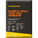 DUNLOP FLOOR & WALL PLUS TILE ADHESIVE WHITE 20KG