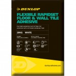 DUNLOP FLEXIBLE RAPID SET TILE ADHESIVE WHITE 20KG