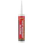 EVERBUILD HEAT RESISTANT SILICONE BLACK 310ML
