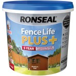 RONSEAL FENCE LIFE PLUS 5L MEDIUM OAK